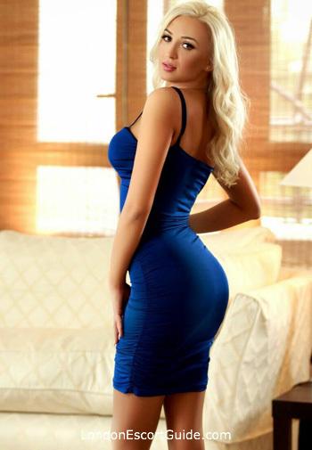 Notting Hill blonde Luana london escort