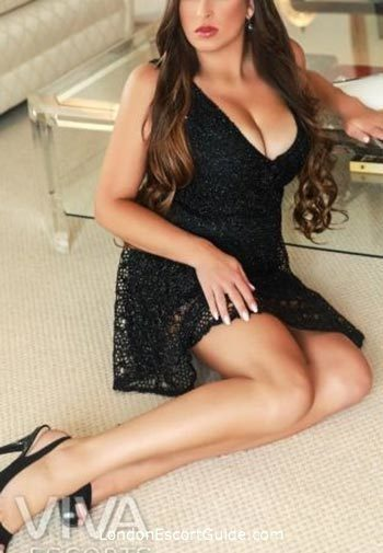 South Kensington brunette Aylah london escort