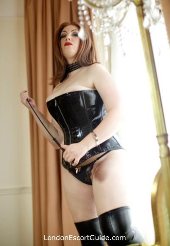 central london pvc-latex Faye Summers london escort