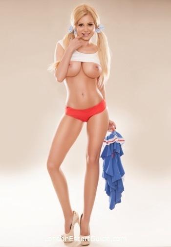 South Kensington blonde Whitney london escort