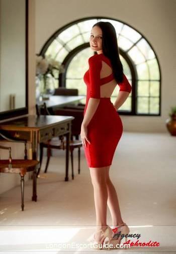 South Kensington brunette Vanja london escort