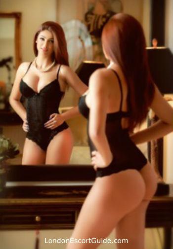 South Kensington brunette Aby london escort