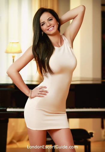South Kensington brunette Nadine london escort