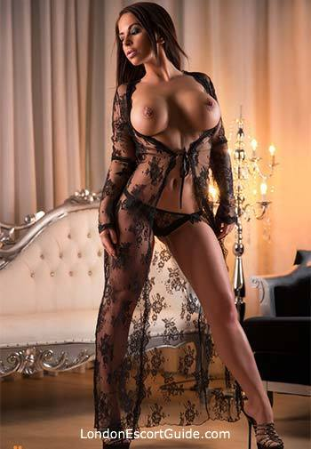 Paddington brunette Flavia london escort