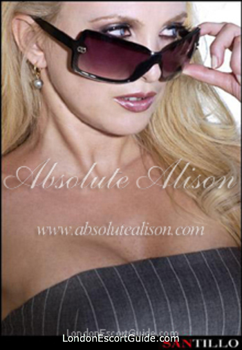Chelsea blonde Alison london escort