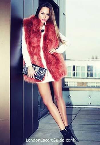 South Kensington blonde Klaudia london escort