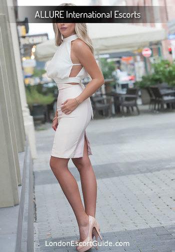 Oxford Street blonde Juliette london escort