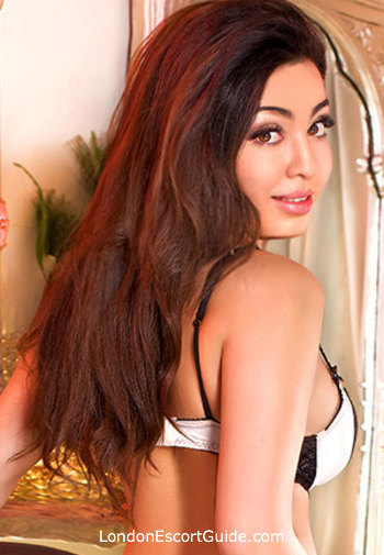 Earls Court brunette Haifa london escort