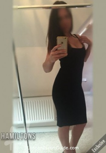 Kensington brunette Emilie london escort