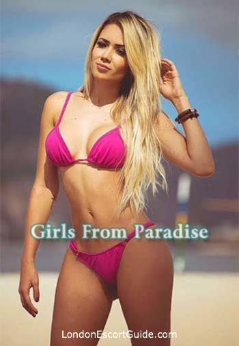 Earls Court blonde Julia Pierre london escort