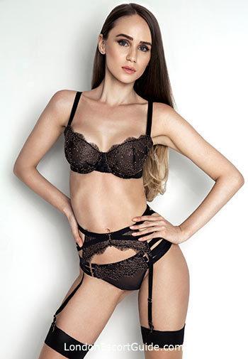 South Kensington brunette Mia london escort