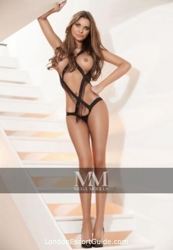 South Kensington brunette Emely london escort