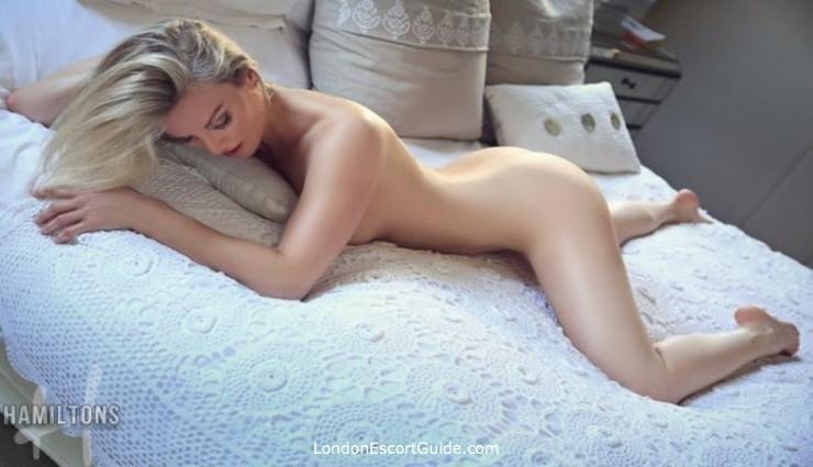 Victoria blonde Penny london escort