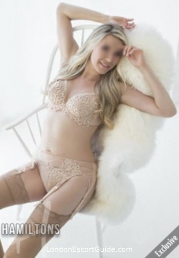Fulham blonde Phoebe london escort