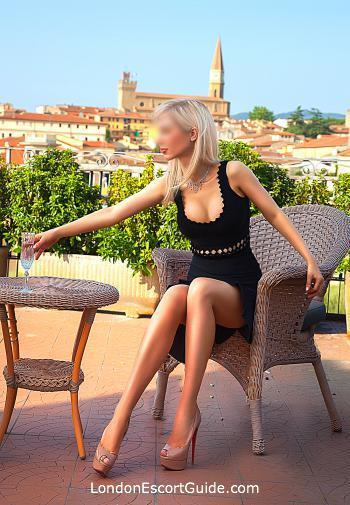 South Kensington blonde Jillian london escort