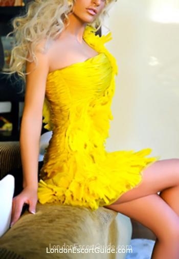 South Kensington blonde Adrianna london escort