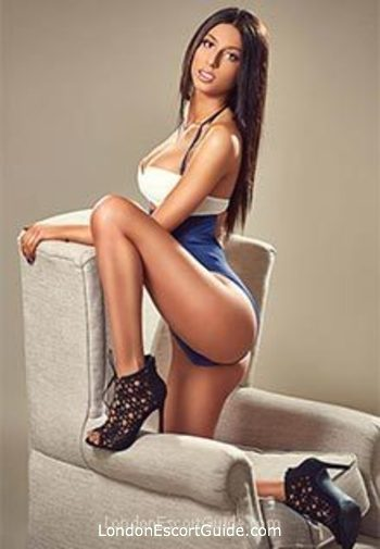 South Kensington brunette Jolana london escort
