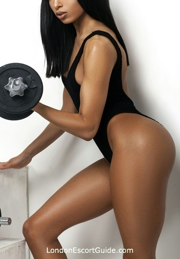 Outcall Only brunette Chanel london escort