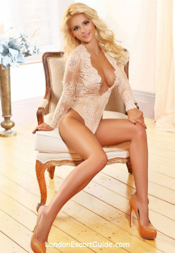 South Kensington blonde Jessie london escort