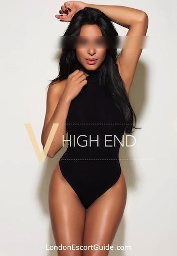 South Kensington brunette Nabeela london escort