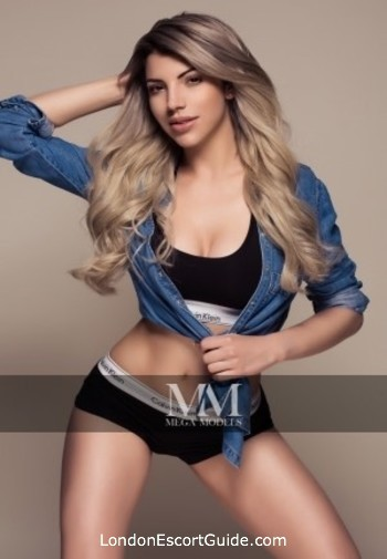 South Kensington blonde Belle london escort
