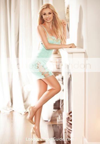Chelsea blonde Monika london escort