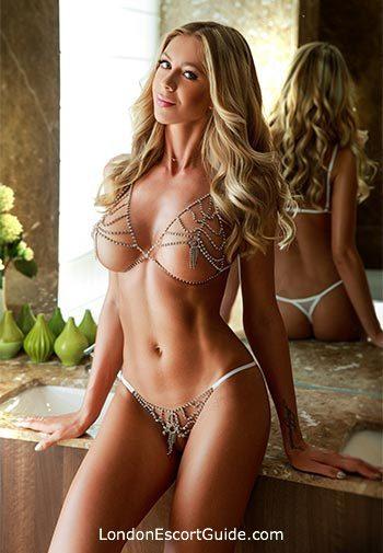South Kensington blonde Madalena london escort