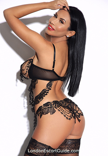 Kensington Olympia brunette Caprice london escort