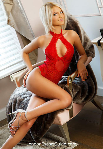 Marylebone blonde Annalisa london escort