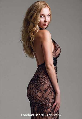 Belgravia blonde Katy london escort