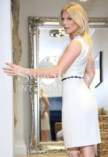 Victoria blonde Penny london escort