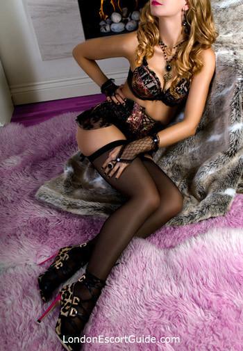Knightsbridge blonde Scarlett Sobiesky london escort