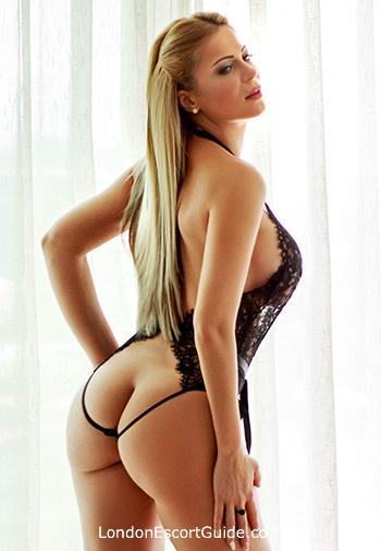 Notting Hill blonde Azalea london escort