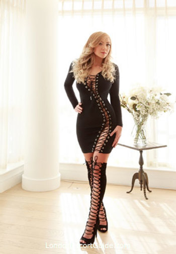 South Kensington blonde Annie london escort