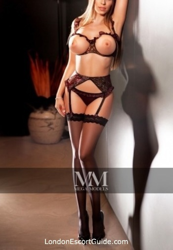 Chelsea brunette Margo london escort