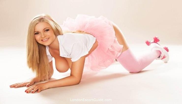 Chelsea blonde Tania london escort