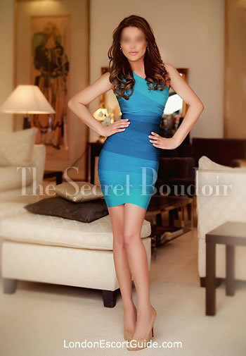 Knightsbridge brunette Eva london escort