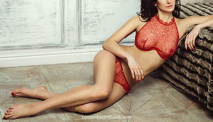 Baker Street brunette Klava london escort