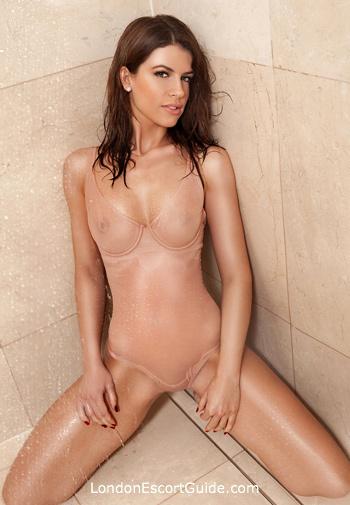 Kensington Olympia brunette Scarlett london escort