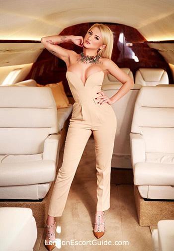 Kensington Olympia blonde Naya london escort