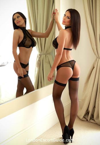 Chelsea brunette Hailey london escort
