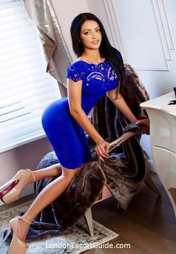 Marylebone brunette Alessia london escort
