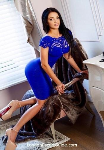 Marylebone brunette Alessia london escort