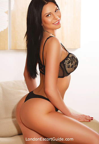 Knightsbridge brunette Edina london escort