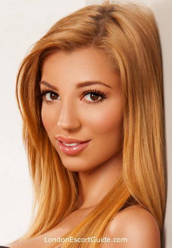 South Kensington blonde Evana london escort