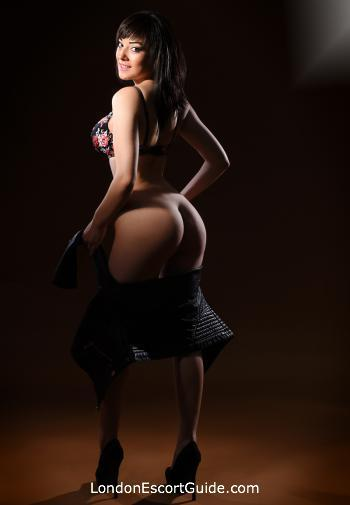 South Kensington brunette Shela london escort