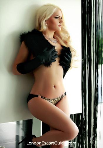 South Kensington blonde Victoria london escort