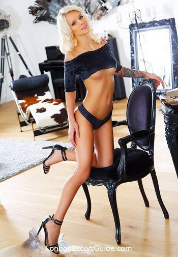 Paddington blonde Gina london escort