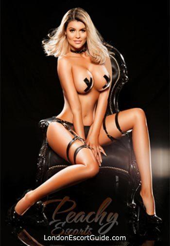 South Kensington blonde Almira london escort