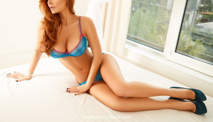Chelsea brunette Petra london escort